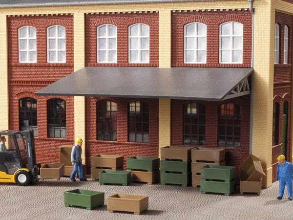 Auhagen 41632 H0-Ladegut, Transportkisten