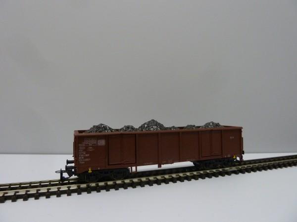 Tillig 15221 TT-Offener Drehgestell-Güterwagen Ep. IV, eingestellt bei der DB m. Ladung