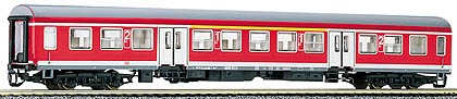 """Tillig 13661 TT-Reisezugwagen 1./2. Klasse Ep. V, der """"DB-Regio"""", eingestellt bei der DBAG"""