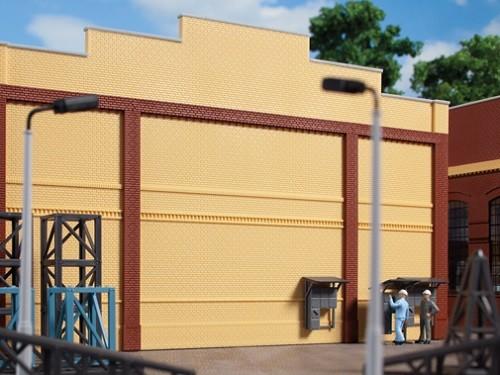 Auhagen 80613 H0-BauKastenSystem / Bauteile: Wände 2324E gelb