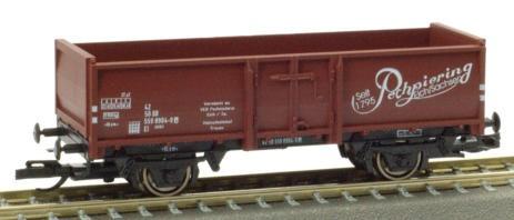 """PSK 2759 TT-Offener Güterwagen Ep. IV, der """"Pechpiering"""", eingestellt bei der DR"""