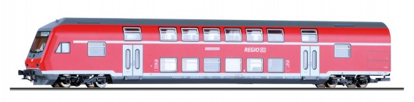 """Tillig 13802 TT-Doppelstocksteuerwagen 2. Kl. Ep. V, der """"DB-Regio"""", eingestellt bei der DBAG"""