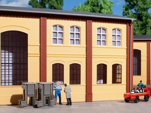 Auhagen 80608 H0-BauKastenSystem / Bauteile: Wände 2322A gelb