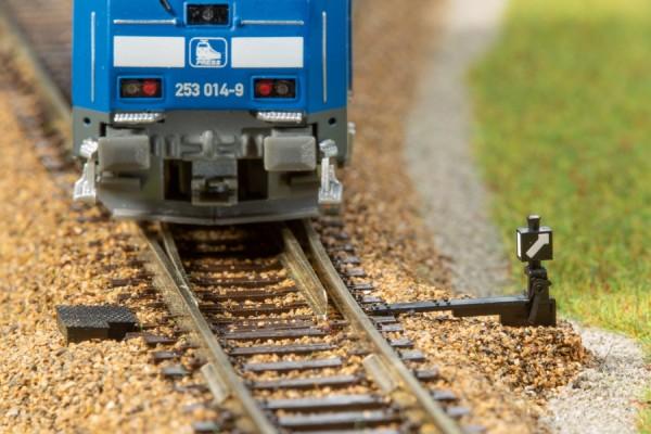 Auhagen 43653 TT-Gleisbau, Weichenlaternenattrappen