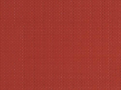 """Auhagen 52212 H0/TT 2-Dekorplatten """"Mauerziegel"""", rot"""