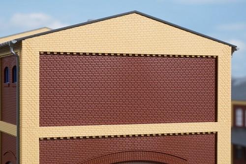 Auhagen 80528 H0-BauKastenSystem / Bauteile: Wände 2532F rot
