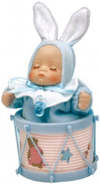 Spieluhr, Art.No. 20229, Baby Junge / Trommel