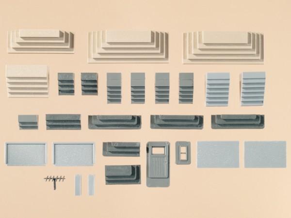 Auhagen 48646 H0/TT-Bauteile: Verschiedene Treppen