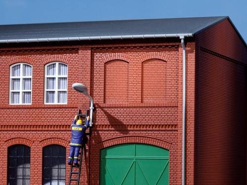 Auhagen 80205 H0-BauKastenSystem / Bauteile: Blindfenster rot