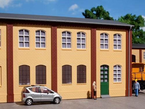 Auhagen 80606 H0-BauKastenSystem / Bauteile: Wände 2323A und Wände 2323B gelb