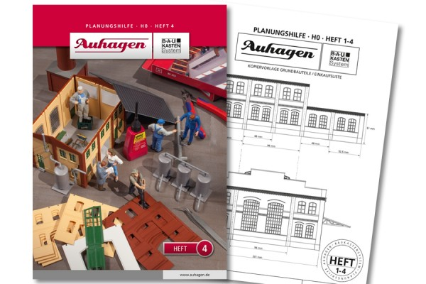Auhagen 80004 BauKastenSystem / Planungshilfe - Heft 4