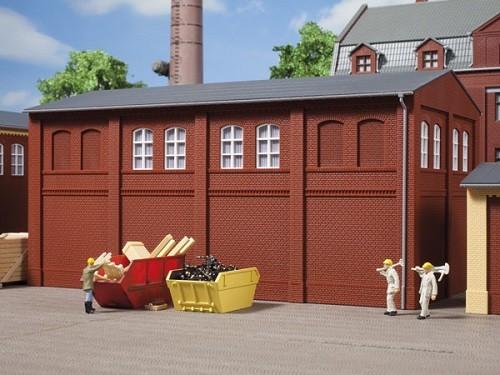 Auhagen 80522 H0-BauKastenSystem / Bauteile: Wände 2410C rot