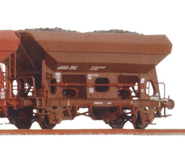 Tillig 500919 TT-Schüttgutwagen Ep. V, eingestellt bei der ÖBB