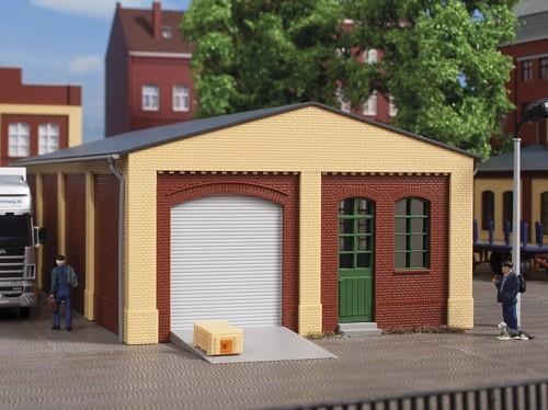 Auhagen 80516 H0-BauKastenSystem / Bauteile: Wände 2390C und 2390D rot