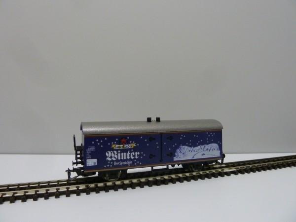 """Modellbahn-Beu TT-Kühl-Werbewagen """"Sauerländer Winter"""" BierSpezialitäten (limitierte Serie)"""
