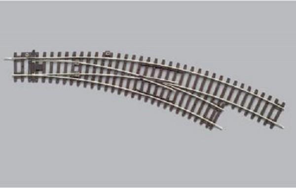 """Piko A-Gleis, 55223 H0 - Weiche rechts """"BWR"""" für DC-Gleissystem"""