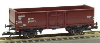 PSK 2757 TT-Offener Güterwagen Ep. IV, eingestellt bei der DB