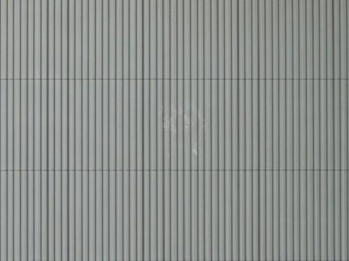 """Auhagen 52233 H0/TT 2-Dekorplatten """"Trapezblech"""", grau"""