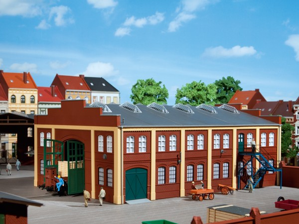 Auhagen 11422 H0-Modellbausatz, Werkhalle