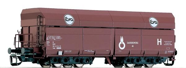 """Tillig 15213 TT-Offener Drehgestell-Schüttgutwagen Ep. IV, der """"EVA"""", eingestellt bei der DB"""