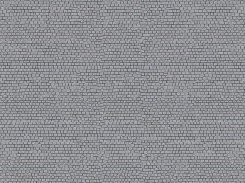 """Auhagen 52236 H0/TT 2-Dekorplatten """"Pflasterstein"""", gerade"""