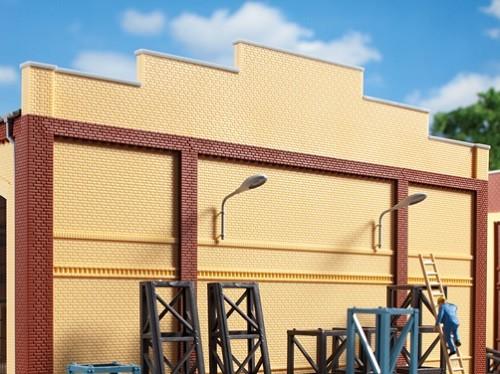 Auhagen 80405 H0-BauKastenSystem / Bauteile: Attika 2329 gelb