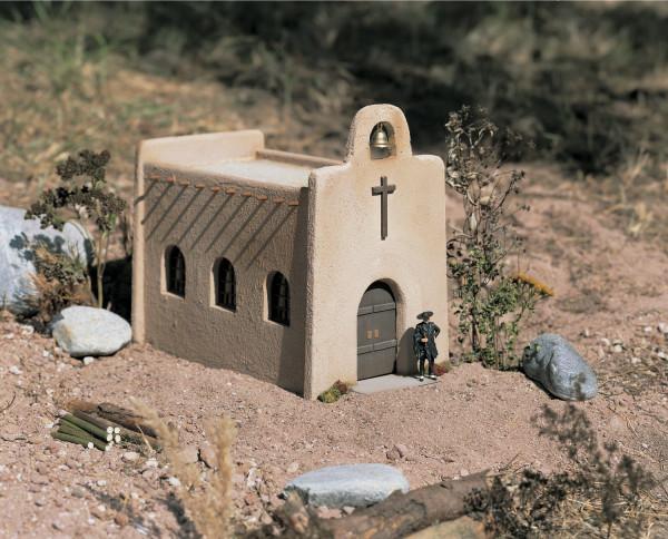 Piko 62253 G-Bahn-Modellbausatz, Kirche Las Cruces