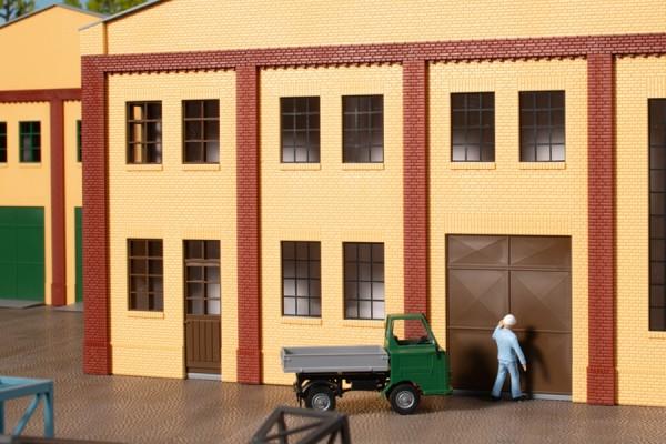 Auhagen 80632 H0-BauKastenSystem / Bauteile: Wände 2578A, Wände 2578B & Wände 2578C gelb