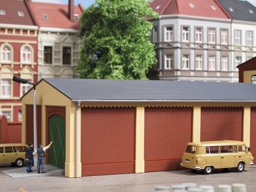 Auhagen 80517 H0-BauKastenSystem / Bauteile: Wände 2390B rot
