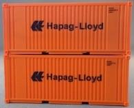 """PSK 6922 TT-Ladegüter, 2-teiliges Container Set bestehen aus 20ft Container von """"Hapag-Lloyd"""""""
