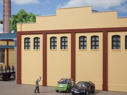 Auhagen 80621 H0-BauKastenSystem / Bauteile: Wände 2410G gelb