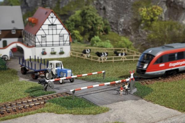 Auhagen 41582 H0-Gleisbau, Beschranker Bahnübergang