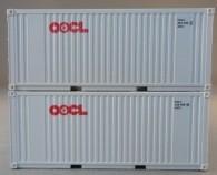 """PSK 6925 TT-Ladegüter, 2-teiliges Container Set bestehen aus 20ft Container von """"OOCL"""""""