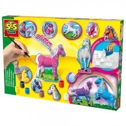 SES-Creative 01155 Pferde, gießen und anmalen