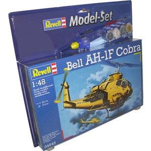 "Revell-Flugzeugmodell, 64646 Modell-Set mit ""Bell AH-1F Cobra"""