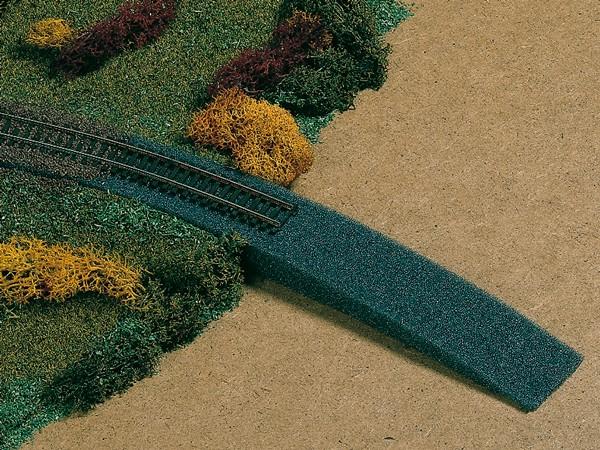Auhagen 41198 H0-Gleisbau, Bahndammauffahrt aus Schaumstoff