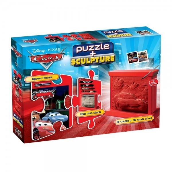 """puzzleSCULPTURE (Disney - Pixar) 20032 Puzzle + Sculpture """"Cars & Co"""""""