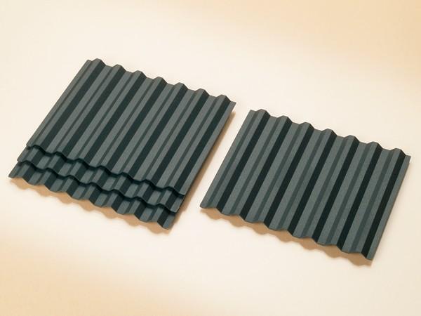 Auhagen 41613 H0-Bauteile: Dachplatten trapezförmig