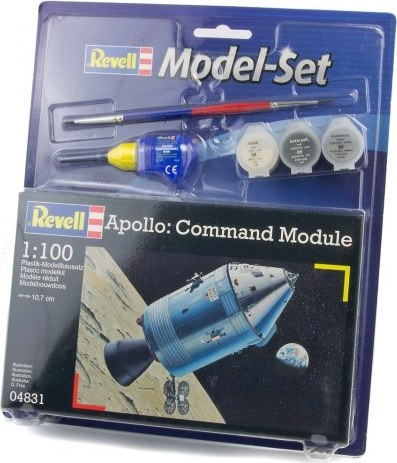 "Revell-Raumfahrtmodell, 64831 Modell-Set mit ""Apollo - Command Module"""
