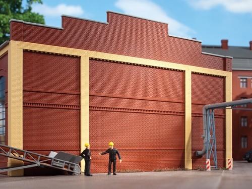 Auhagen 80513 H0-BauKastenSystem / Bauteile: Wände 2324E rot