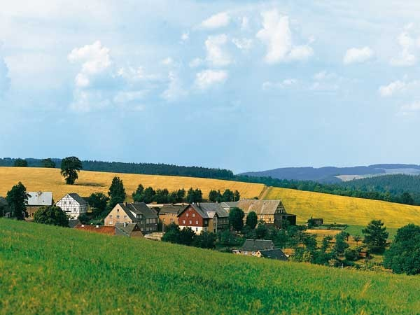 Auhagen 42508 H0/TT Hintergrund Wolkenstein