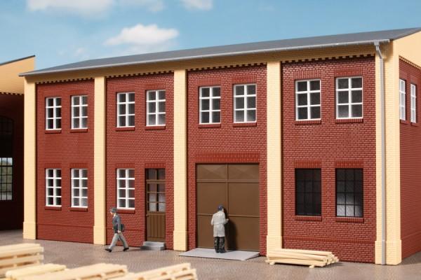 Auhagen 80257 H0-BauKastenSystem / Bauteile: Tore und Türen braun, Stufen, Rampen
