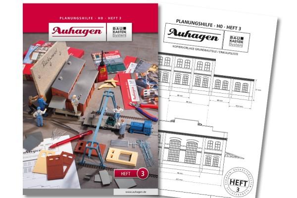 Auhagen 80003 BauKastenSystem / Planungshilfe - Heft 3