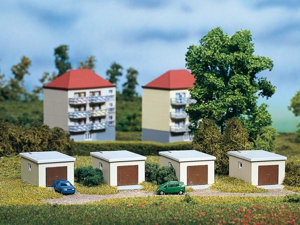 Auhagen 14463 N-Modellbausatz, Garagen
