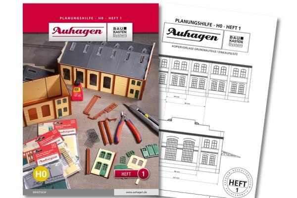 Auhagen 80001 BauKastenSystem / Planungshilfe - Heft 1