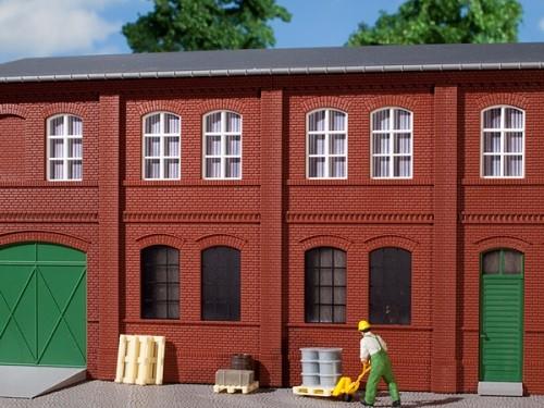 Auhagen 80508 H0-BauKastenSystem / Bauteile: Wände 2322A rot