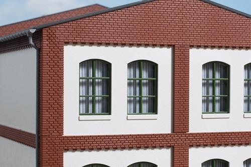 Auhagen 80725 H0-BauKastenSystem / Bauteile: Wände 2532I geputzt