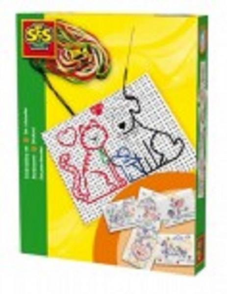 SES-Creative 00855 Ausnähen (Stick-Set)