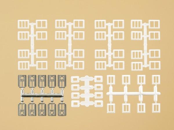 Auhagen 48654 H0/TT-Bauteile: Fenster und Türen für Industriegebäude