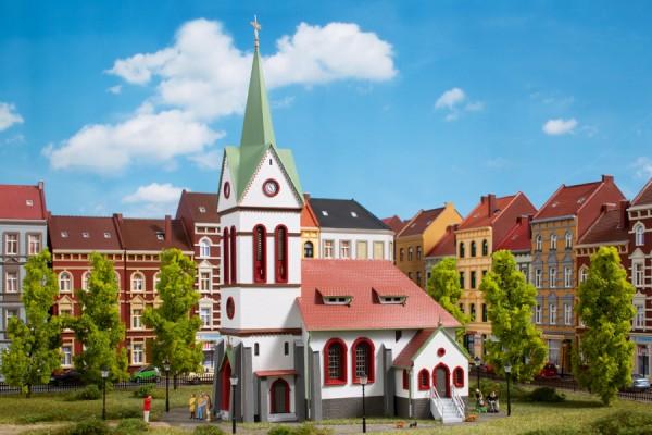 """Auhagen 11370 H0-Modellbausatz, """"Stadtkirche"""""""